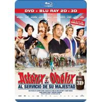 Astérix y Obélix: Al servicio de su majestad - Blu-Ray 3D + 2D + DVD