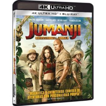 Jumanji. Bienvenidos a la jungla - UHD