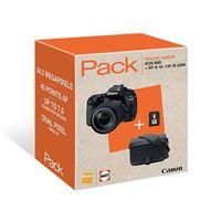 Cámara Réflex Canon EOS 80D + 18-135 mm IS USM Pack