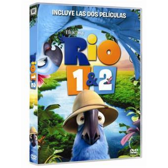 Pack Río 1 y 2 - DVD