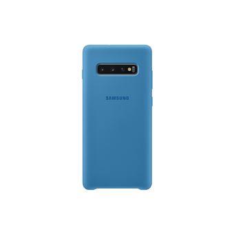 Funda de silicona Samsung para Galaxy S10+ Azul