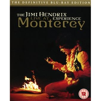 American Landing. Jimi Hendrix Experience Live at Monterey (Blu-Ray)