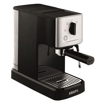 Cafetera Expresso Krups Steam & Pump Negro