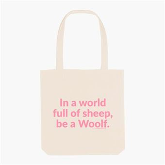 Bolsa Superbritánico In a world full of sheep, be a woolf