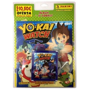 Blister 15 sobres + álbum Yokai Watch