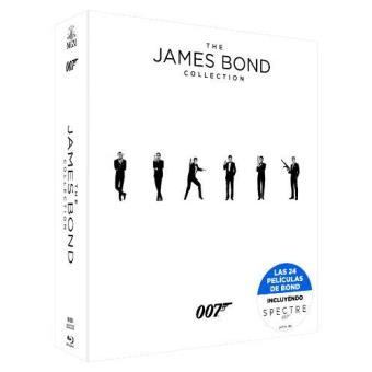 Colección completa James Bond 007 - Blu-ray