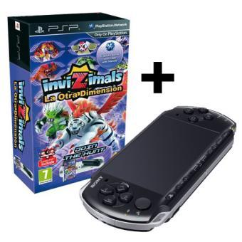 PSP 3000 Negra + InviZimals: La otra dimensión + Cámara