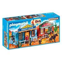 Playmobil Western - Ciudad del Oeste maletín