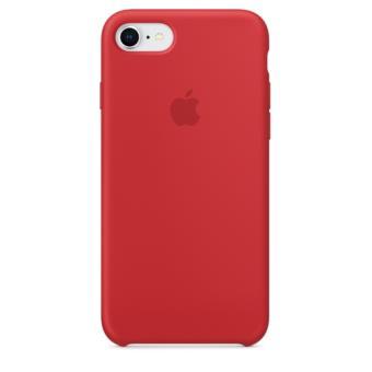 Funda Apple Silicone Case Rojo para iPhone 7/8