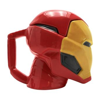 Taza 3D Marvel - Iron Man