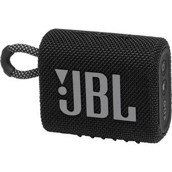 Altavoz Bluetooth JBL Go 3 Negro