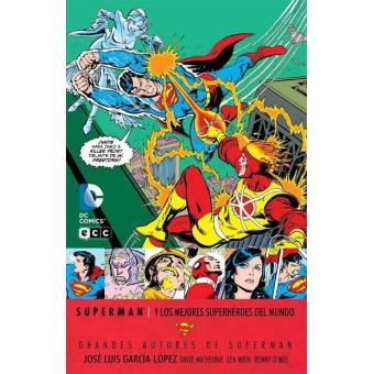 Grandes autores de Superman. José Luis García López: Superman y los mejores héroes del mundo