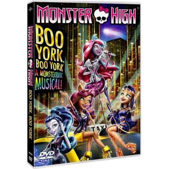 Monster High: Boo York, Boo York Spanish