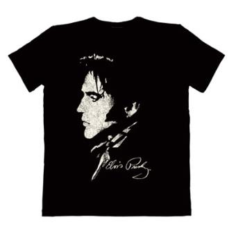 6c85acd46e218 Camiseta Elvis Presley Portrait Black - Talla L - Merchandising ...