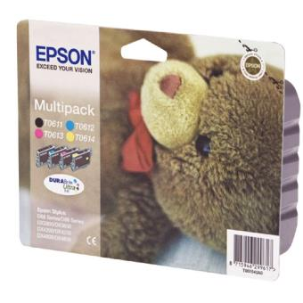 Pack de tinta Epson T061 Color - Negro