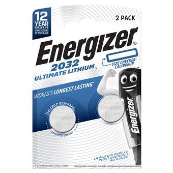 Pilas Energizer Ultimate Lithium CR2032