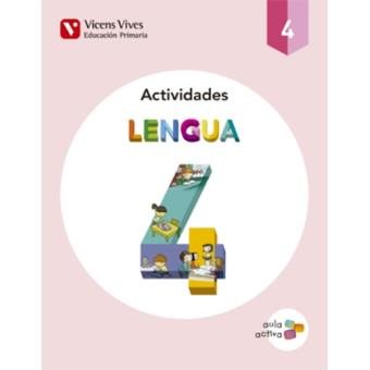Lengua 4 Actividades (Aula Activa)