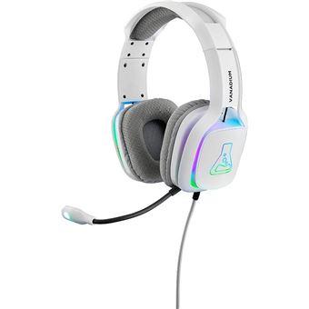 Headset gaming The G-Lab Korp Vanadium Blanco