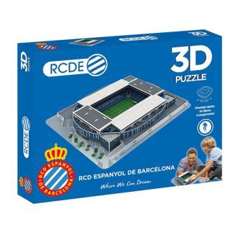Puzzle Estadio Cornella 3D