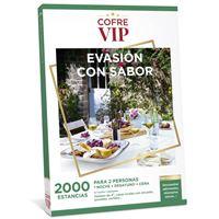 Caja regalo CofreVIP Evasión con sabor