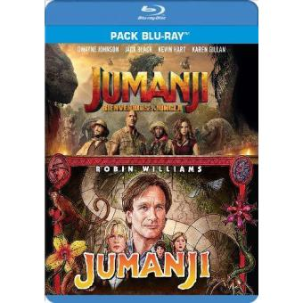 Jumanji + Jumanji. Bienvenidos a la jungla - Blu-Ray