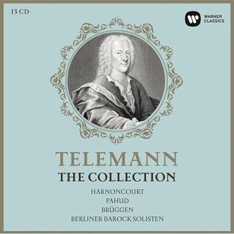 Telemann: The Collection (13 CD + libro)