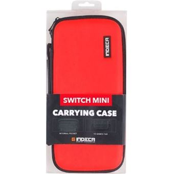 Bolsa roja Indeca Nintendo Switch Lite