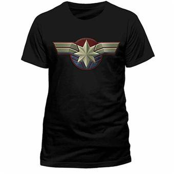 Camiseta Capitana Marvel  – Talla L