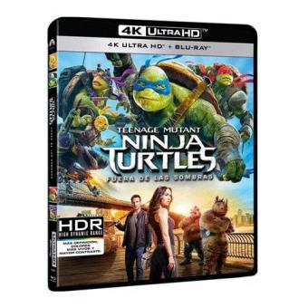 Tortugas NinjaNinja Turtles: Fuera de las sombras - UHD + Blu-Ray