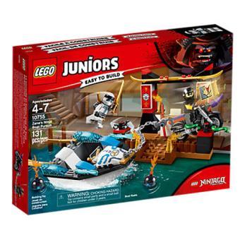 LEGO Juniors - Ninjago Persecución en la lancha ninja de Zane