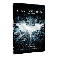 La Trilogía Batman: Batman Begins + El Caballero Oscuro + La Leyenda Renace  - DVD