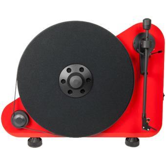 Tocadiscos vertical Pro-Ject VTE-R Rojo (Producto reacondicionado)