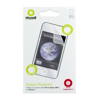 MCA Protector de pantalla pack 2 und para iPhone 4