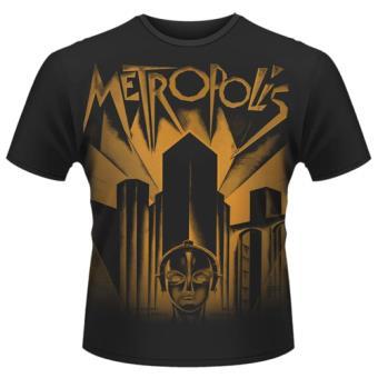 Camiseta Metrópolis Negro Talla XL