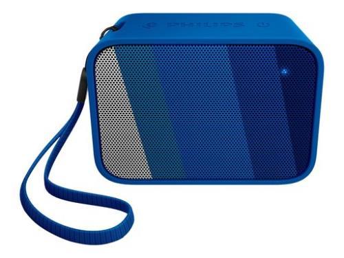 Altavoz bluetooth Philips BT110 Azul Waterproof