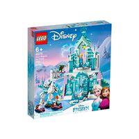 LEGO Disney Princess Frozen 43172 Palacio mágico de hielo de Elsa