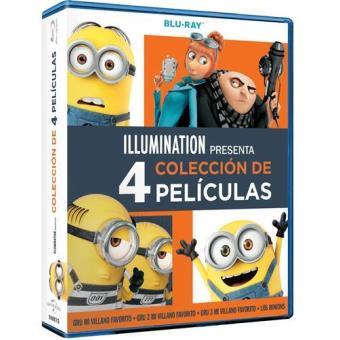 Pack Gru 1-3 + Los Minions - Blu-Ray