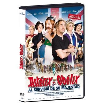 Astérix y Obélix: Al servicio de su majestad - DVD