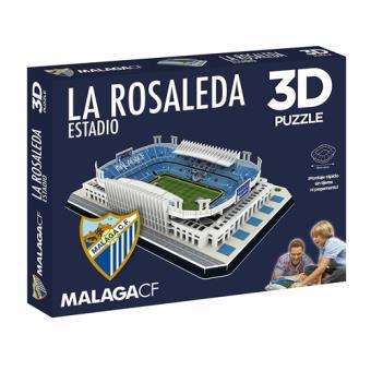 Puzzle Estadio La Rosaleda 3D