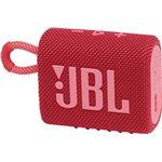 Altavoz Bluetooth JBL Go 3 Rojo