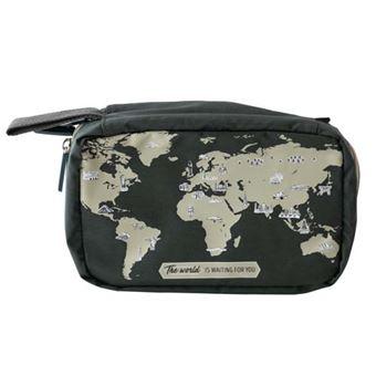 Mr Wonderful Neceser de viaje bag  - The world is...