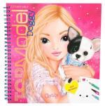 Top Model Create Your Doggy Colouring Book Libro para colorear con stickers