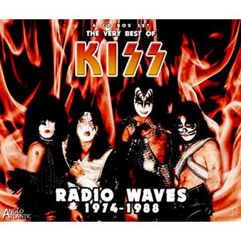 Radio Waves 1974-1988. The Very Best of Kiss (4 CD)