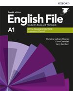 English File 4th Edition A1. Student's Book and Workbook with Key Pack