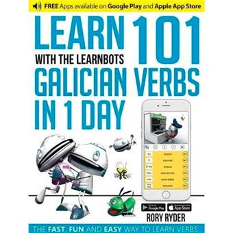 Learn 101 Galician Verbs in 1 Day with The Learnbots