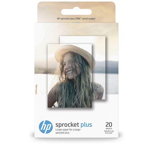 Papel fotográfico adhesivo HP Sprocket Plus