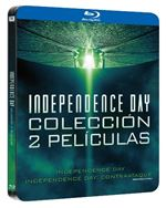 Independence Day 1-2  - Steelbook Blu-Ray