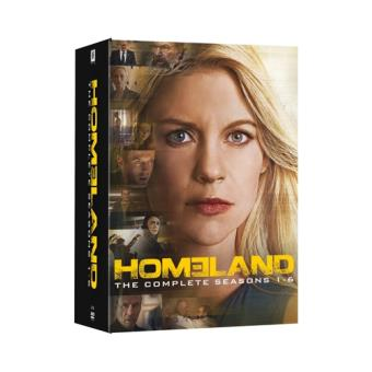Homeland - Temporadas 1-6 - DVD