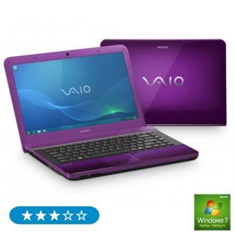"""Sony Vaio EA3S1E/V color violeta Portátil 14"""""""