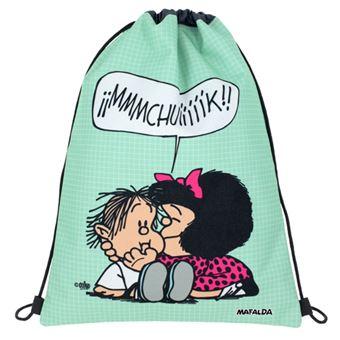 Mochila saco plana Mafalda Muak